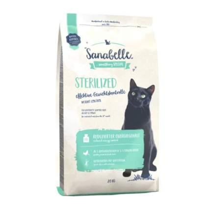 Сухой корм для кошек Sanabelle Sterilized, для стерилизованных, домашняя птица, 2кг