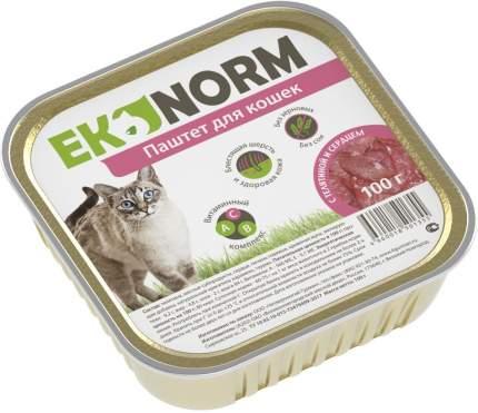 Консервы для кошек Ekonorm, индейка, потрошки, 100г