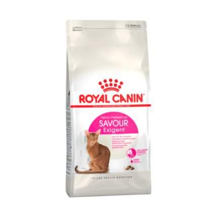 Сухой корм для кошек ROYAL CANIN Savour Exigent, для привередливых к вкусу, 0,56кг