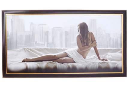 Репродукция в раме Hoff Рассвет в Нью-Йорке