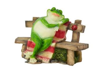 Декоративное изделие Hoff Лягушка на лавке