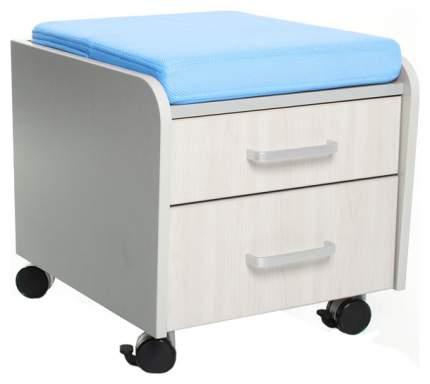 Тумбочка Comf-Pro BD-C2 голубой, серый, беленый дуб