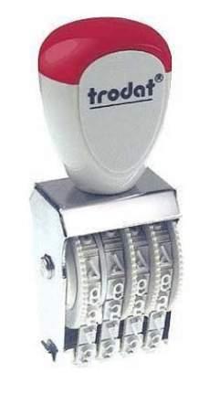 Нумератор ленточный Trodat Classic Line 1554. 4 разряда. Высота шрифта: 5 мм