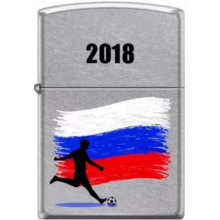 Бензиновая зажигалка Zippo Russian Soccer Street Chrome