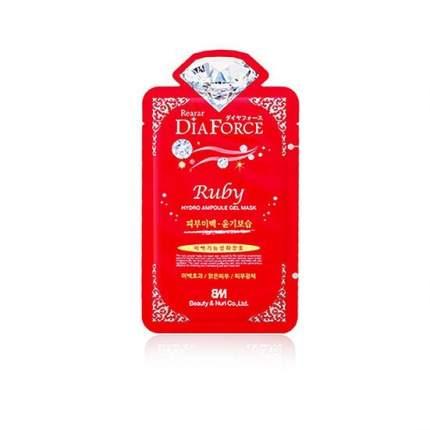 Маска для лица с рубиновой пудрой Rearar Dia Force Ruby Hydro Ampoule Gel Mask 28 гр