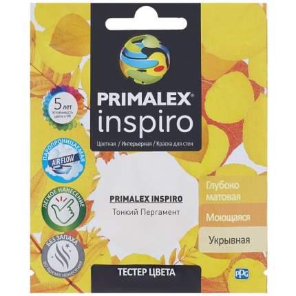 Краска для внутренних работ Primalex Inspiro Тестер 40мл Тонк. Пергамент, PMX-I19