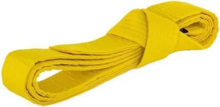 Пояс для кимоно желтый