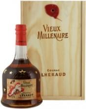 Коньяк Lheraud Cognac Vieux Millenaire wooden box 0.7 л