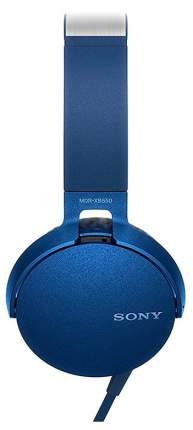 Наушники Sony MDR-XB550 Blue