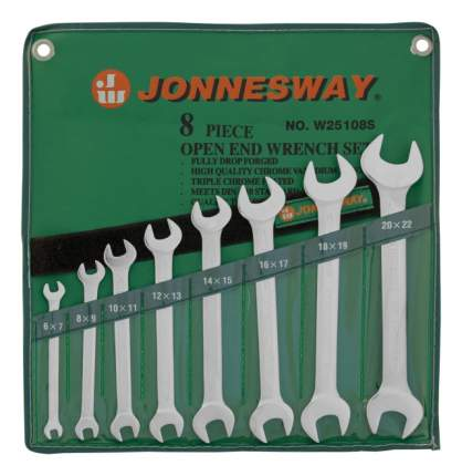 Набор рожковых ключей JONNESWAY W25108S