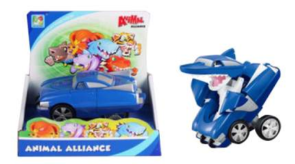 Машинка пластиковая Simbat Toys Машинка-акула