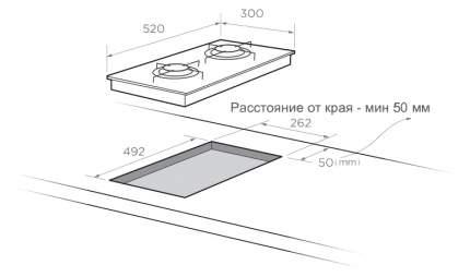 Встраиваемая варочная панель газовая Zigmund & Shtain GN 124.31 S Silver