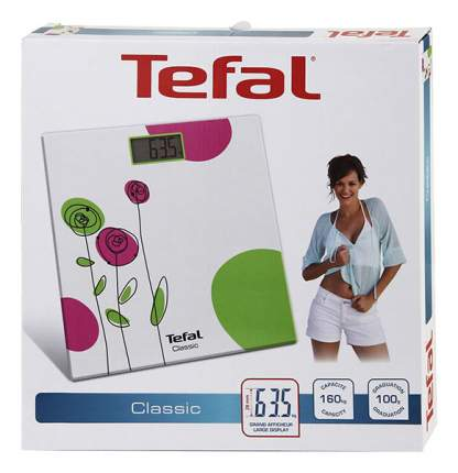 Весы напольные Tefal New Decor PP1146V0 Белый