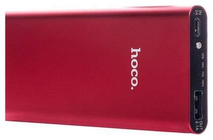 Внешний аккумулятор Hoco B16 10000 мА/ч Red