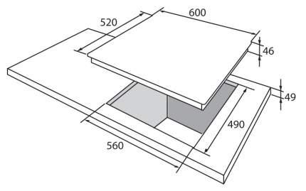 Встраиваемая варочная панель газовая Hansa BHGI 631500 Silver