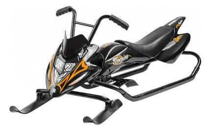 Снегокат детский одноместный Small Rider Rider Scorpion черный с оранжевым