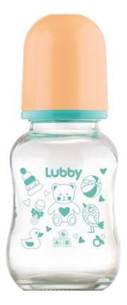 Детская бутылочка LUBBY С силиконовой соской 120 мл