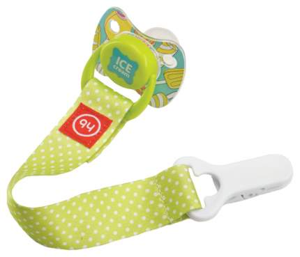 Держатель Happy Baby для пустышки Lime