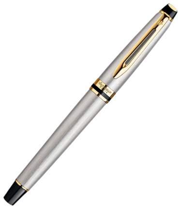 Ручка-роллер Waterman Expert Stainless Steel GT, F Black