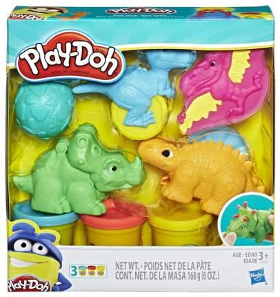 Набор для лепки из пластилина Play-Doh Hasbro Малыши-Динозаврики