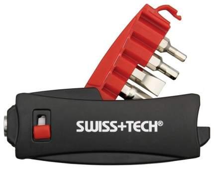Мультитул Swiss+Tech XDrive Micro Ratchet ST60250 90 мм красно-черный, 5 функций