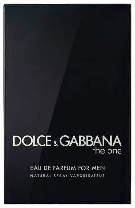 Парфюмерная вода Dolce & Gabbana The One for Men Eau de Parfum 100 мл