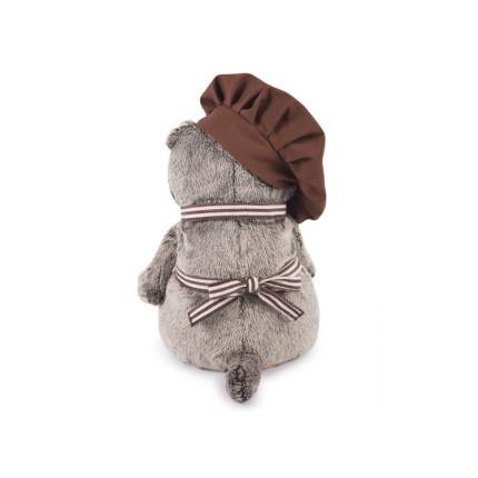 Мягкая игрушка BUDI BASA Кот Басик - бариста 25 см