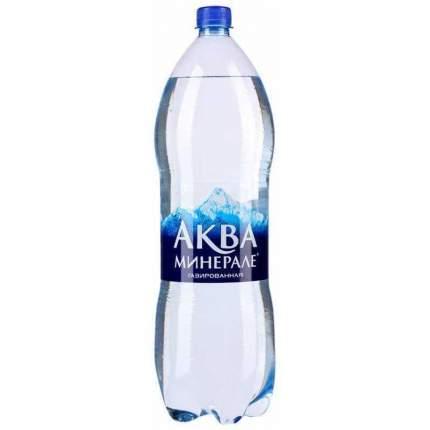 Вода Aqua Minerale газированная питьевая 2 л 6 штук в упаковке