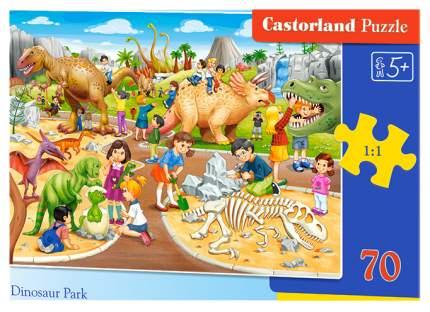 Пазл Castorland 70 эл. Парк динозавров, арт. 1505/046