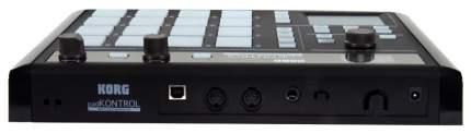 Миди-контроллер для программирования ударных Korg Padkontrol KPC-1 BK