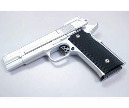 Страйкбольный пружинный пистолет Galaxy  Китай (кал. 6 мм) G.20S (Browning) серебристый