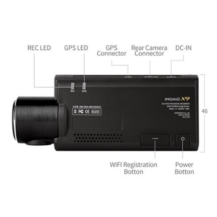 Видеорегистратор IROAD DASH CAM X9