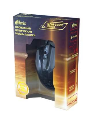 Проводная мышка Ritmix ROM-365 SC Black