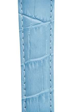 Ремешок для часов из кожи Signature 111601 светло-голубой 18 mm short