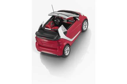 Модель Smart Fortwo Cabriolet B66960171 Scale 1:43 Red