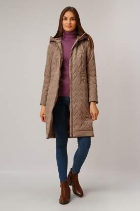 Пальто женское Finn Flare B19-11074 коричневое M