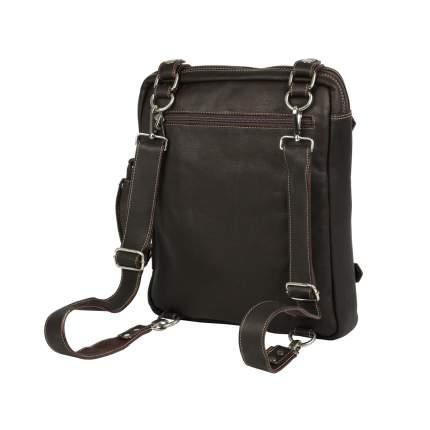 Рюкзак кожаный Bufalo TRP-03 коричневый