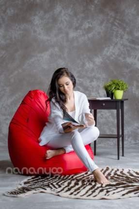 Кресло-мешок Папа Пуф Оксфорд Красный XL, красный