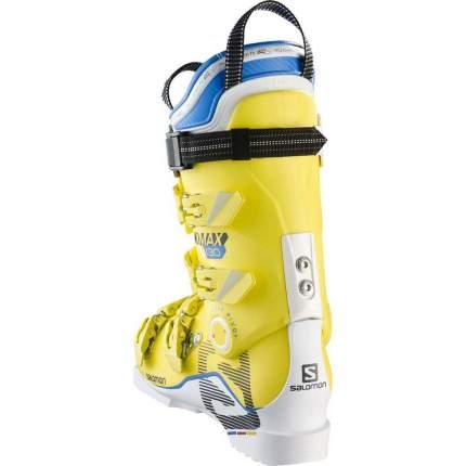 Горнолыжные ботинки Salomon X Max 130 2017, white/yellow, 28.0