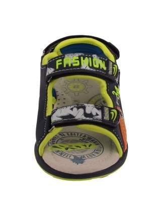 СандалииКолобок Freestyle, цвет: синий-зеленый, размер: 28