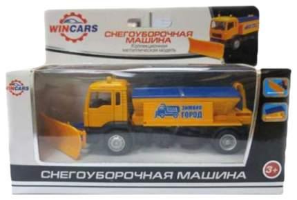 Машинка Wincars Снегоуборщик желтый U1401D-8