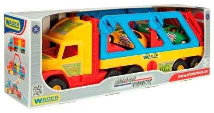 Машинка пластиковая Wader Super Truck 36640