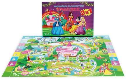 Настольная игра Рыжий кот 2 в 1 Волшебное путешествие принцесс ИН-7914