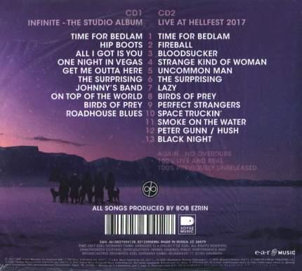 Deep Purple Infinite (Limited Gold Edition)(RU)(2CD)
