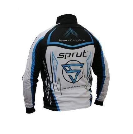Лонгслив Sprut Team of Anglers, white/black/blue, L INT