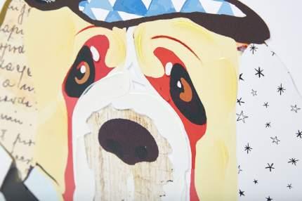 Репродукция 40x40 см Hoff Мистер Пёс