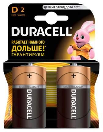 Батарейка Duracell D 2 шт