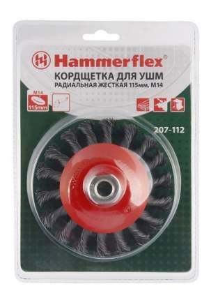 Дисковая кордщетка для угловых шлифмашин Hammer 62118