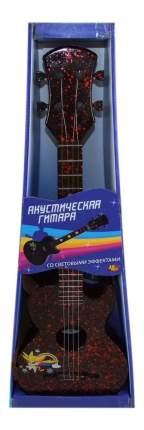 Гитара акустическая черная d-00041