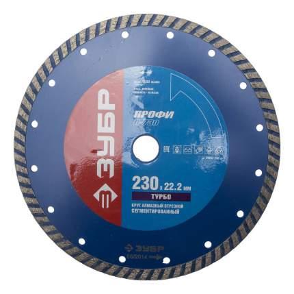 Отрезной диск по камню для угловых шлифмашин Зубр 36652-230_z01
